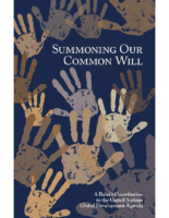 Summoning Our Common Will Global Development Agenda