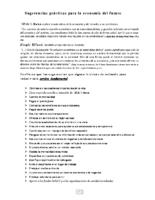 spanish suggestions sugerencias economicas practicas para participantes